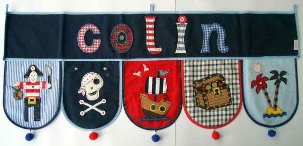 Piraten Geschenk zur Dekoration im Kinderzimmer
