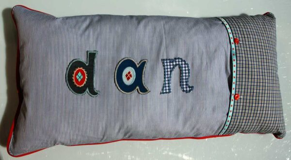 How to use a letter patch? Just iron it on.