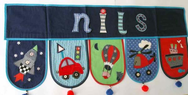 Als Weihnachtsgeschenk für einen Jungen den Namen schenken bei www.namengeschenk.de