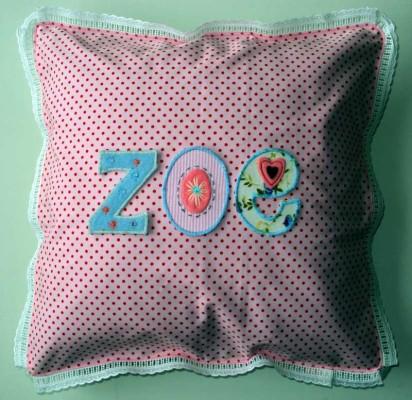 Ein Geschenk personalisieren für Zoe bei www.namengeschenk.de