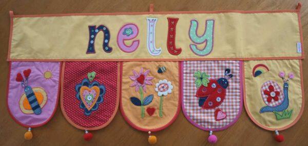 Kinder Geschenke personalisieren mit bügelbaren Buchstaben
