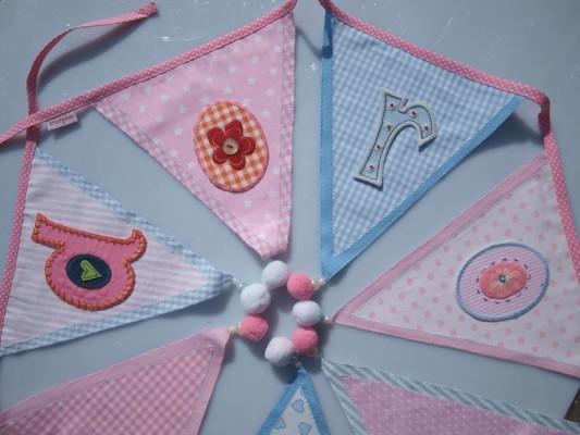 Kinder Namen Girlanden Geschenk zur Dekoration Kinderzimmer