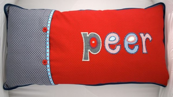 Iron on names - Personalize name cushions