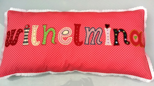 Kinder Kissen Namen Geschenke - exklusive Kissen Geschenke mit Kinder Namen