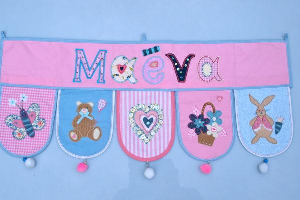 Buegelbare Buchstaben Verlosung gewinnen - Kinder Buchstaben personalisieren Namen Geschenke