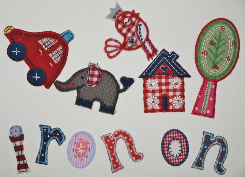 Handelsvertreter Verkaufsagent Kinder bügelbare Buchstaben Patches gesucht