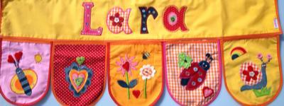Persönliche Namen Geschenke schenken - Namen Geschenke Banner 30x80cm