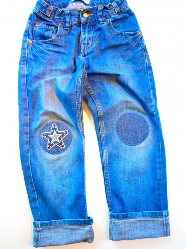 Kinder Kleider flicken- Aufbügler Patches flicken Kinder Jeans