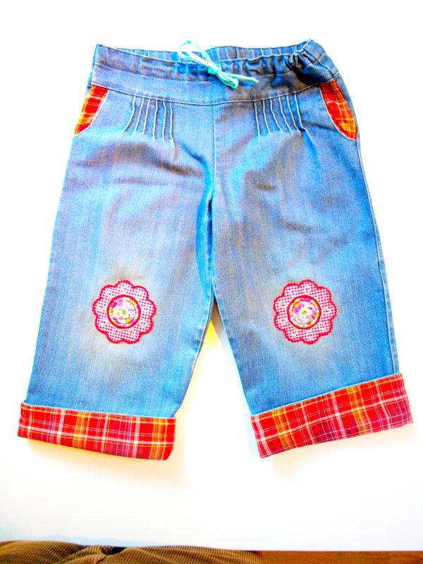 Kinder Kleider Jeans Rock aufpeppen mit bügelbaren Patches Flicken Aufbügler