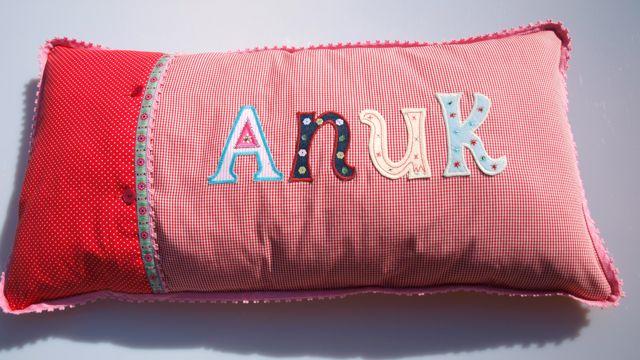 Kinder Kissen mit Namen personalisiert machen mehr Freude