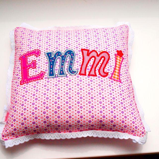 Kinder Namen Buchstaben machen Kinder Kissen persönlich