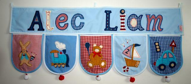 Kinder Dekoration Geschenke mit Namen Personalisieren Kinderzimmer