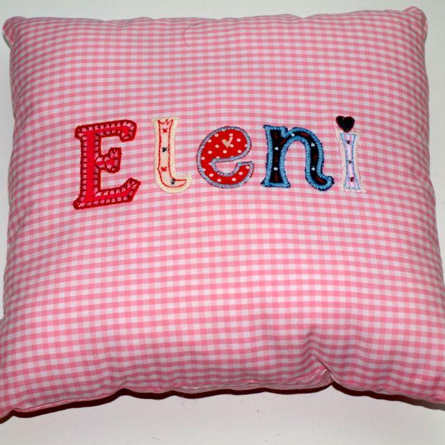 Namen Kissen Geschenke Baby Kind dekorieren Kinderzimmer