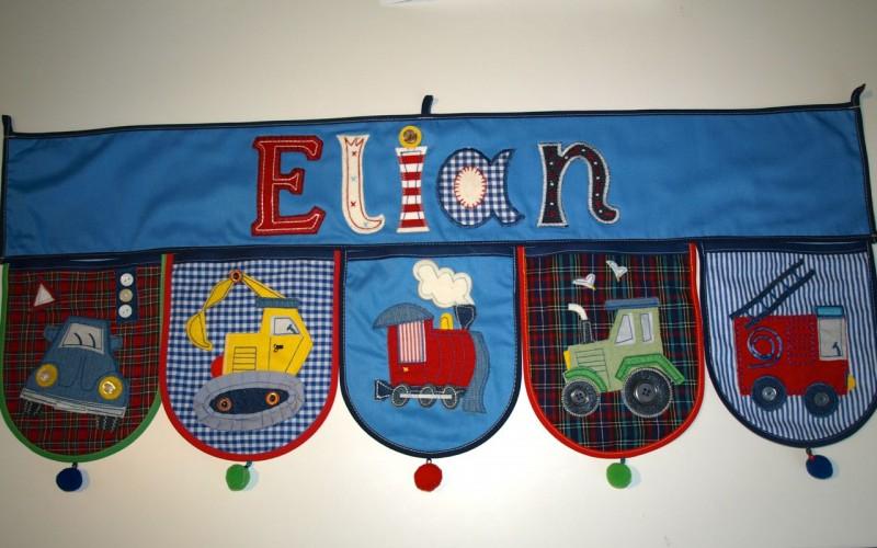 Einzigartige Kindergeschenke mit Namen - schönes Accessoire für das Kinderzimmer
