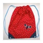 Kinder Garten Tasche rot blau Motiv online kaufen im Shop TrickyBoo