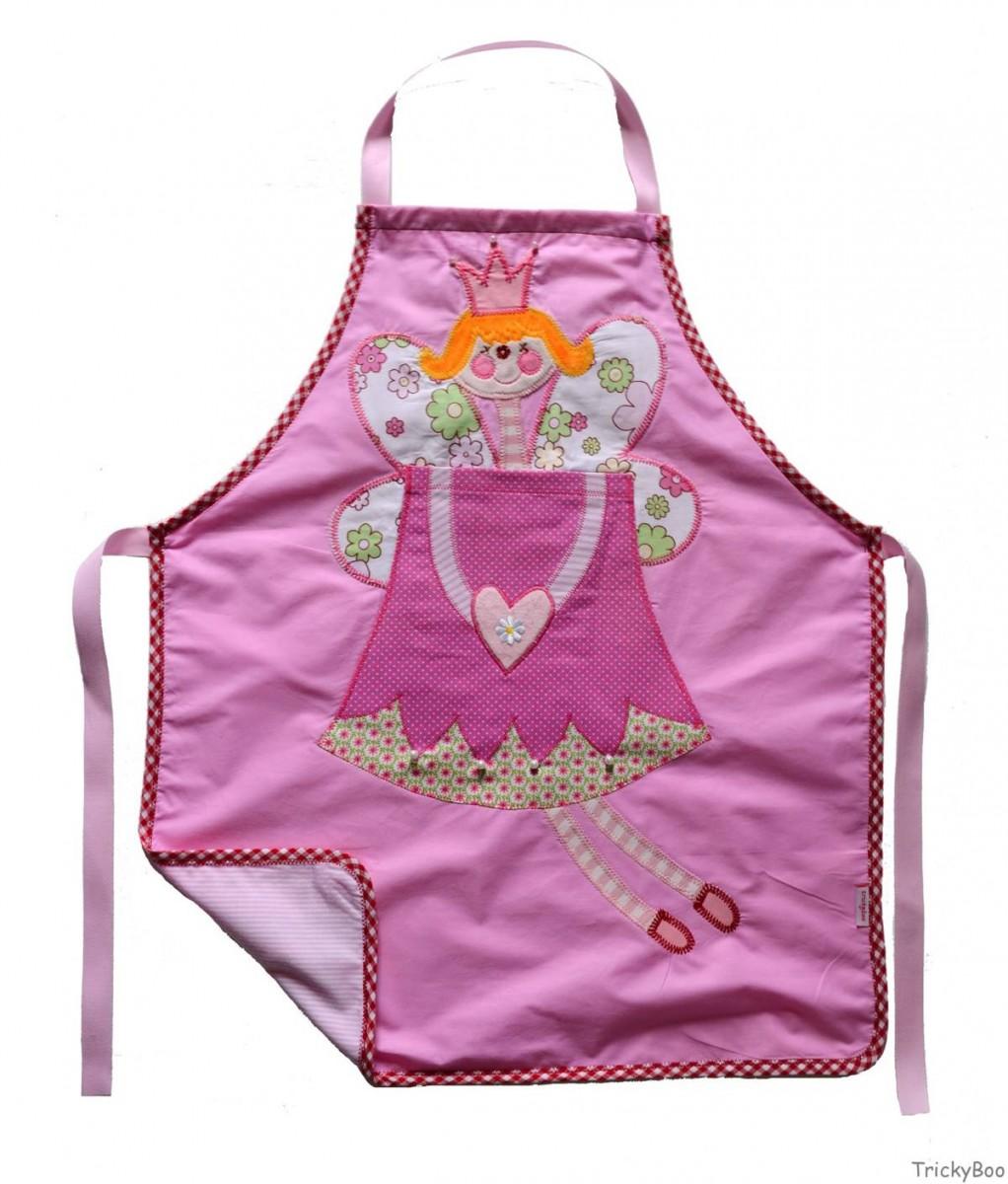 Geschenk Kinder Schürze malen kochen basteln