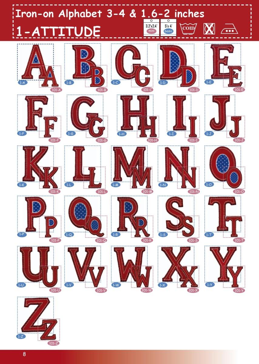 ABC GROSSBUCHSTABEN rot blau 4-5cm oder 8-10cm