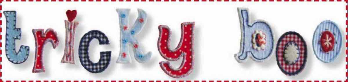 Aufbügler Aufnäher Buchstaben Patches