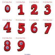 9 Bügel Zahlen