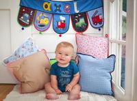 Geschenk für Baby Kind mit Namen personalisiert