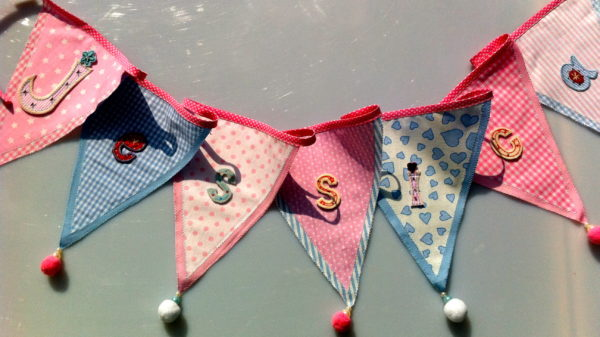 Decorative Fabric Bunting