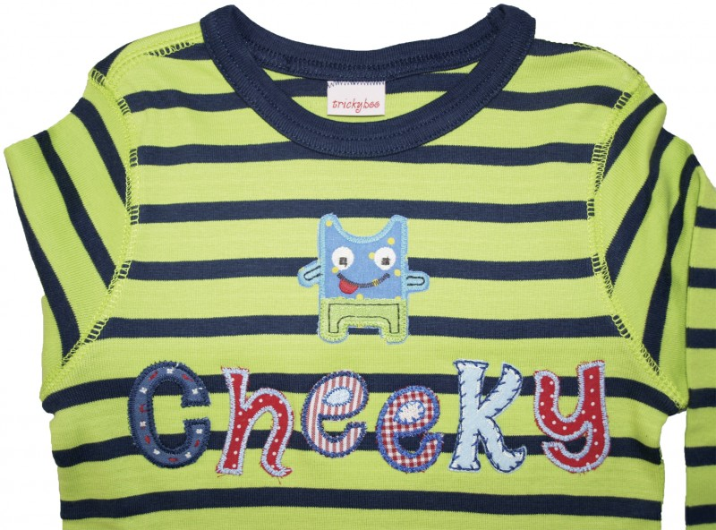 iron-on patches - Iron-on letters personalize kids clothes
