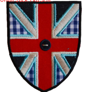 Union Jack Applique Stoff Aufbügler Applikation Aufnäher